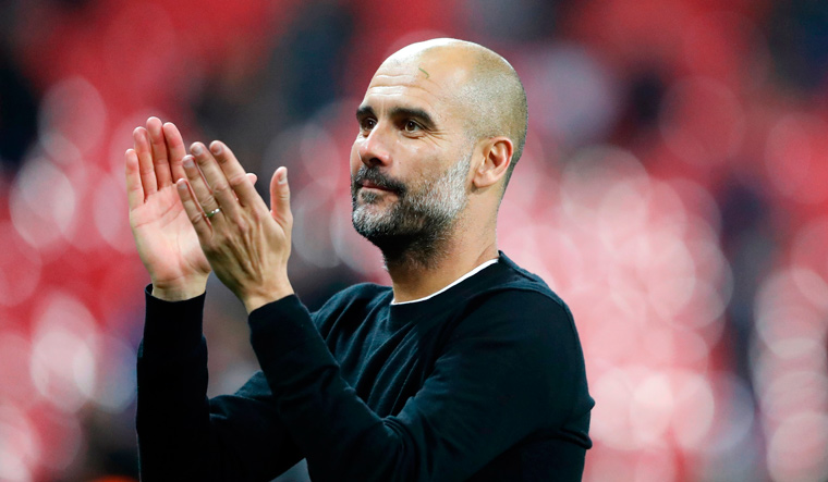 Guardiola joined City in 2016 on a three-year contract