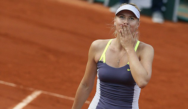 Maria Sharapova back at French Open with point to prove