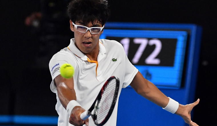 French Open: Chung Hyeon pulls out with ankle injury