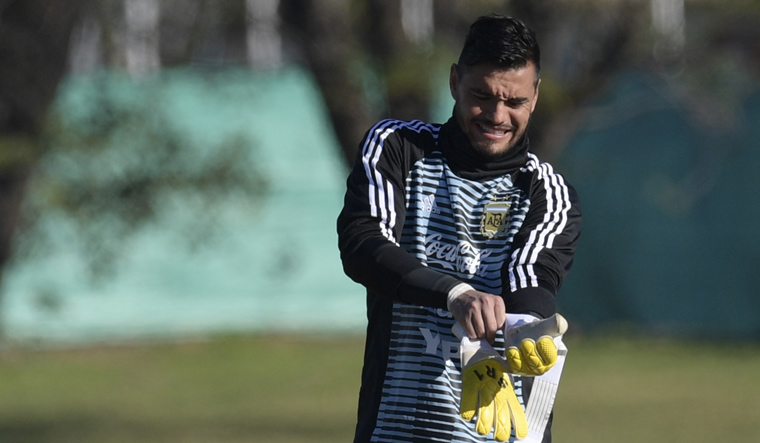 FIFA World Cup 2018: Sergio Romero out of Argentina squad with knee injury