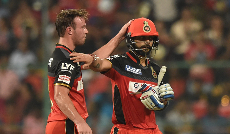Kohli heaped praise on his RCB teammate and congratulated de Villiers