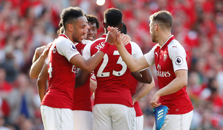 Arsenal mark Wenger's final home game with 5-0 thrashing of Burnley