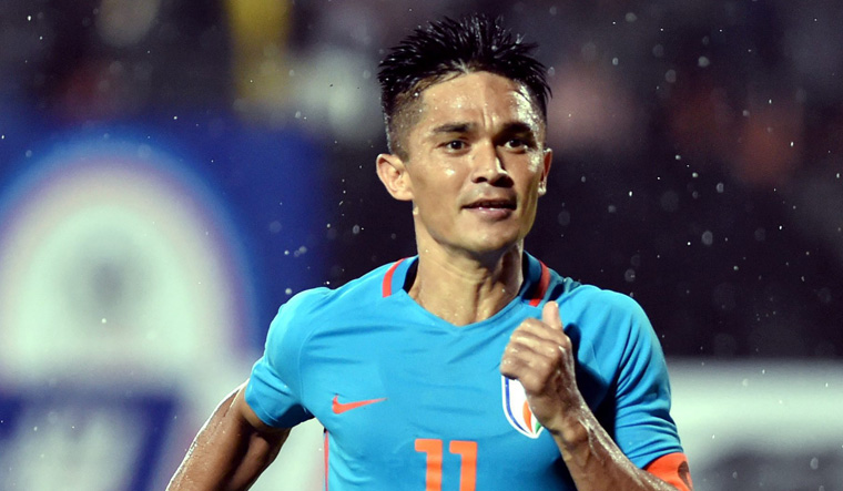 Skipper Chhetri joked that weird thoughts come to mind when breakfast is delayed