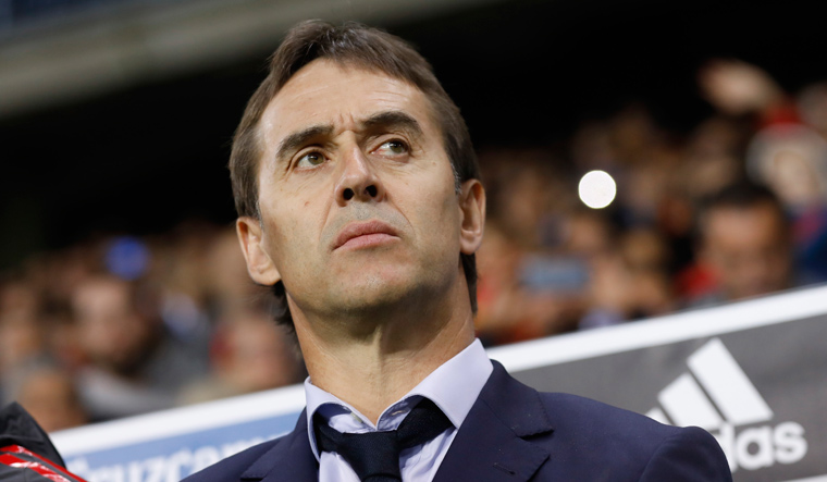 Spain coach Lopetegui sacked two days before World Cup