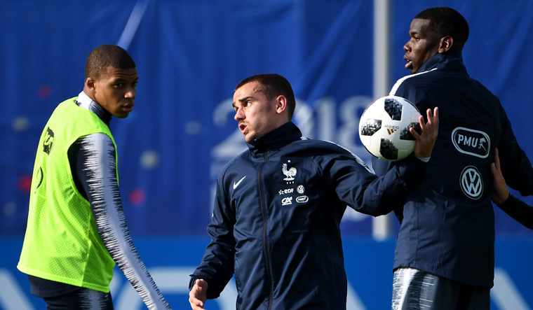FIFA World Cup 2018: Fearsome young trio expected to start for France