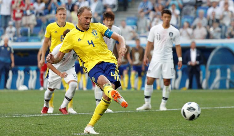 Sweden vs South Korea: Sweden bury World Cup opening jinx with 1-0 win