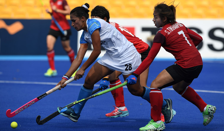Asian Games: India beat Thailand 5-0 in women's hockey