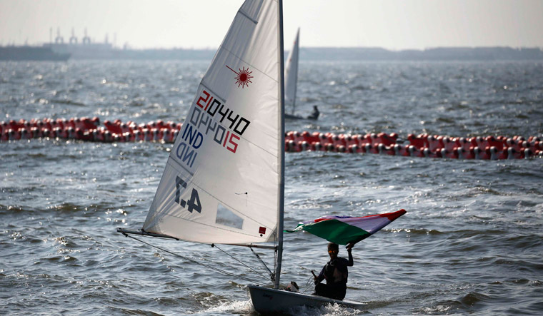 Silver, two bronze for India in sailing at Asian Games