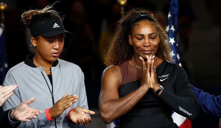 Serena Williams receives support as US Open sexism row escalates