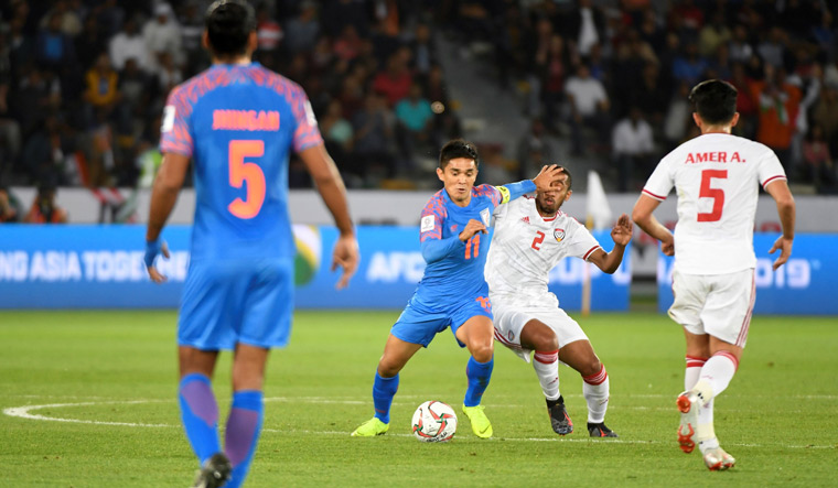 Unlucky India must take positives from the UAE game