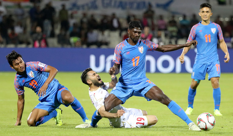 India suffer 0-1 loss against Bahrain, crash out of Asian Cup