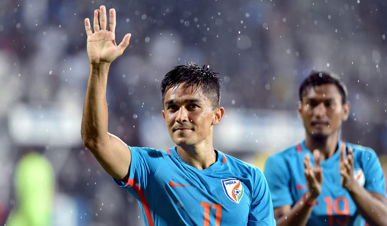 Sunil Chhetri says India will be difficult to beat in Asian Cup