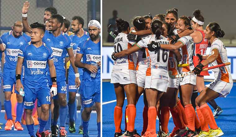 Indian-mens-womens-hockey-teams-olympic-qualifier-PTI