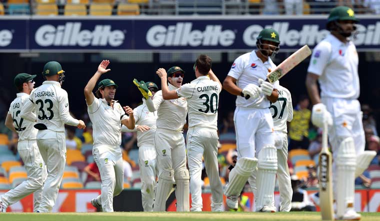 Australia skittle Pakistan to seize control of first Test at the Gabba