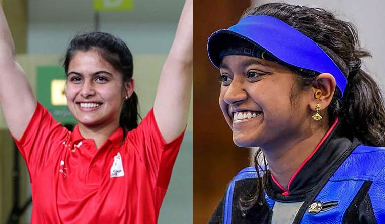 Manu, Elavenil, Divyansh claim top honours in shooting World Cup Finals