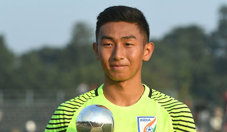 Goalkeeper Dheeraj gets maiden call-up in Indian team for FIFA WC qualifiers