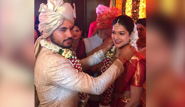Manish Pandey marries Ashrita Shetty hours after Syed Mushtaq Ali trophy win