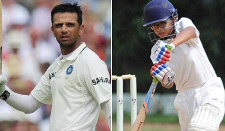 Like Father, Like Son: Rahul Dravid's son Samit thrills with double century