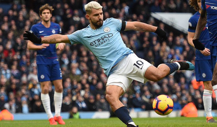 Man City destroy Chelsea 6-0 with another Aguero hat-trick