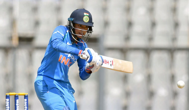 India women restricted to 205/8 after Brunt's five-wicket haul