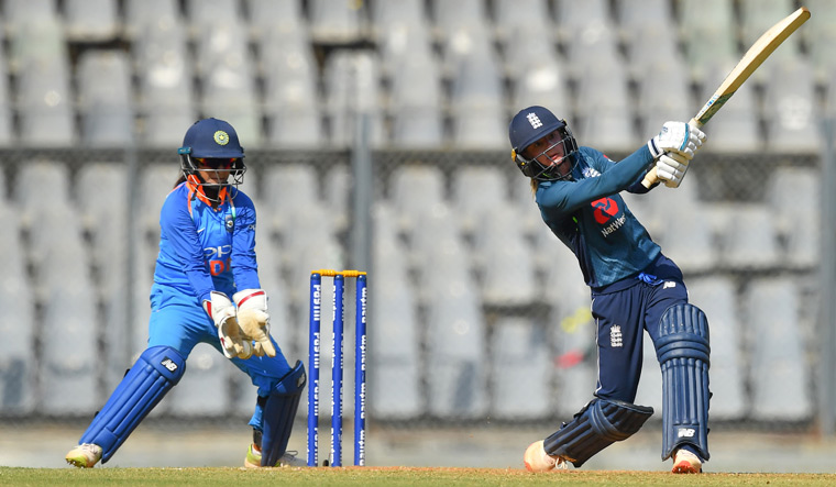 England women register consolation win against India in final ODI