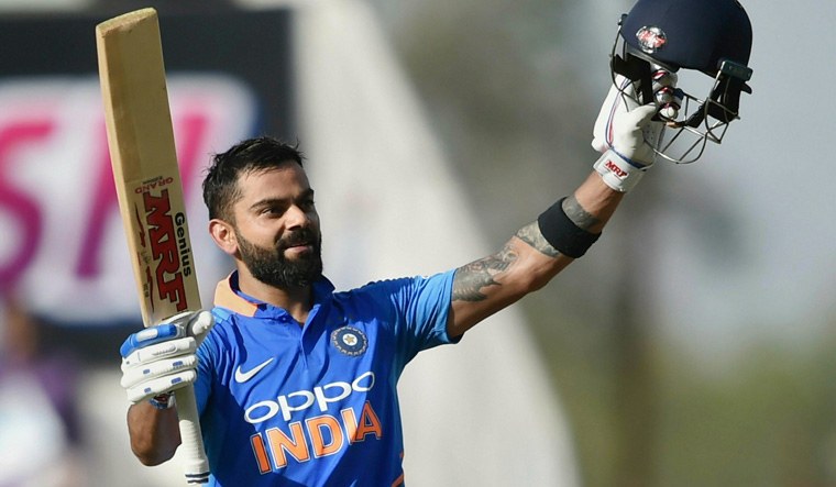 Virat Kohli revives India's innings with determined century - The Week