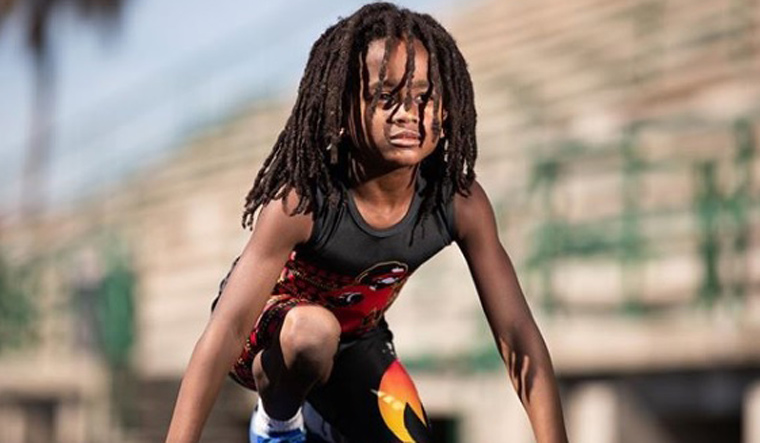 Meet Rudolph Ingram―the fastest kid in the world who ran 100m in 13.48 seconds