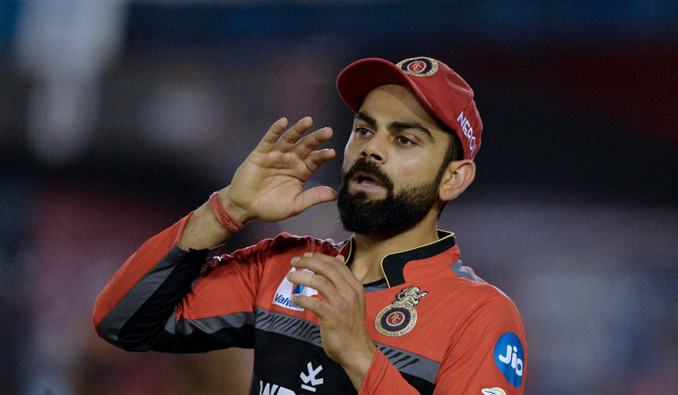 Kohli fined Rs 12 lakh for maintaining slow over-rate against KXIP