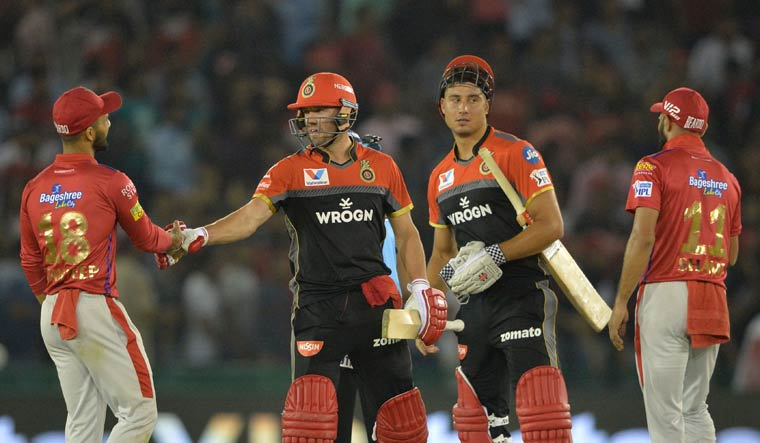 Kohli, de Villiers guide RCB to eight-wicket win over KXIP