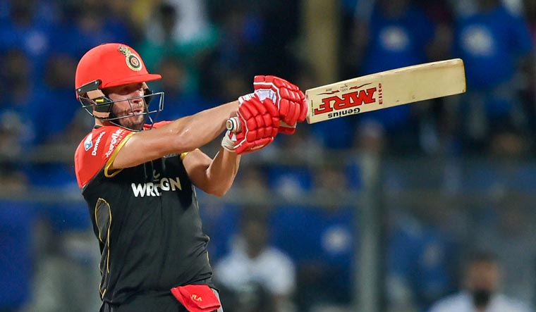 IPL 2019: ABD, Ali half centuries guide RCB to 171/7 against MI