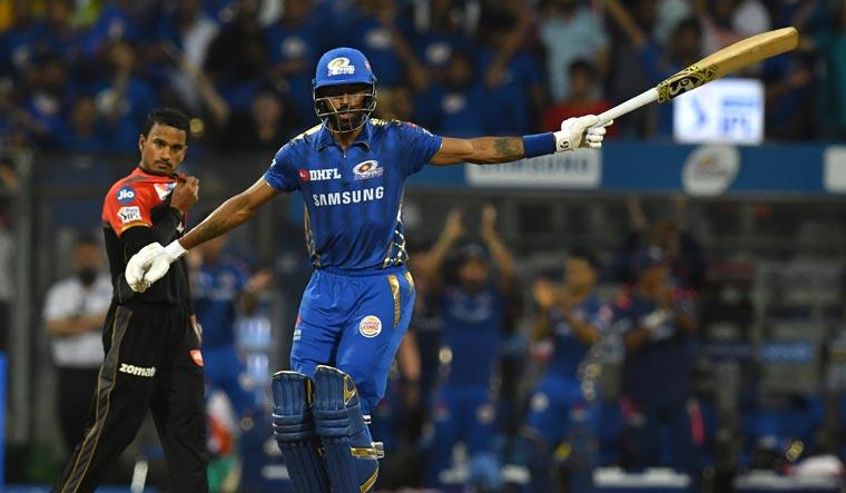 Hardik Pandya stars with late cameo in MI's 5-wicket win over RCB