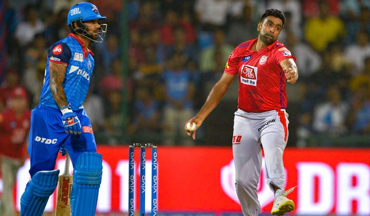 Ashwin fined for slow over-rate against Delhi Capitals
