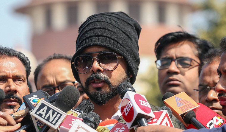 SC says BCCI Ombudsman to decide quantum of punishment for Sreesanth