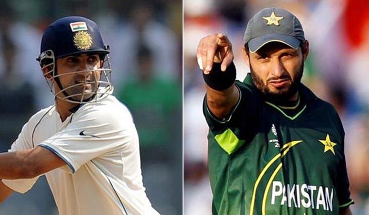 Shahid Afridi calls Gambhir 'bewakoof' over India-Pak World Cup remarks