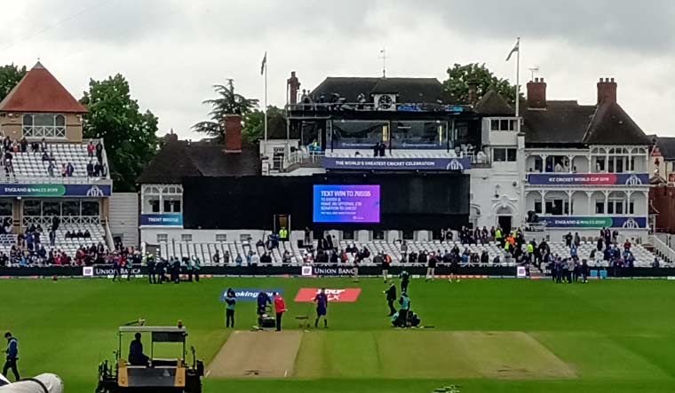 World Cup: Wet outfield delays start of India-New Zealand game