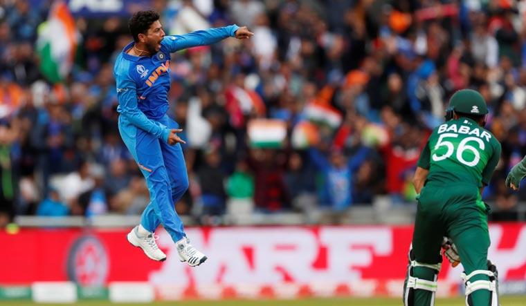 Kuldeep Yadav spins his magic yet again