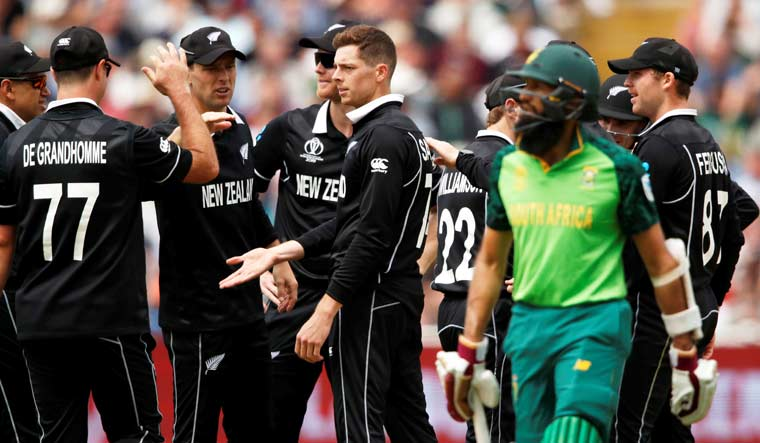World Cup: New Zealand restrict South Africa to 241/6 in truncated game