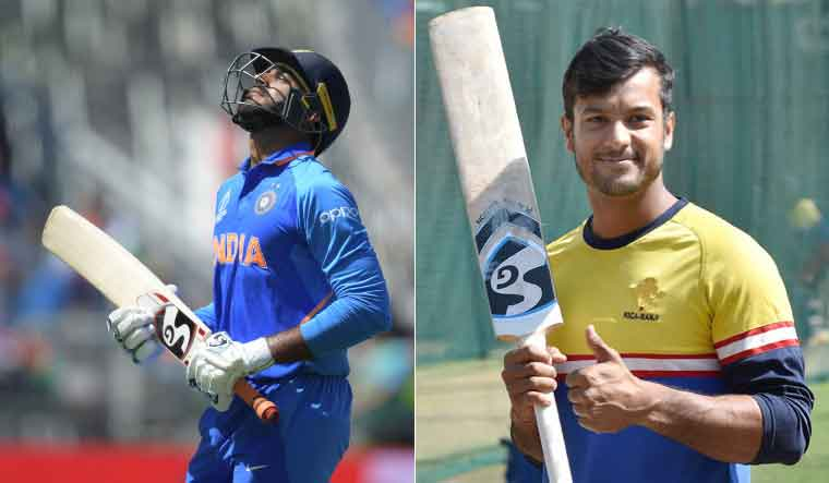 Injured Vijay Shankar out of World Cup; Mayank Agarwal to replace him - The Week