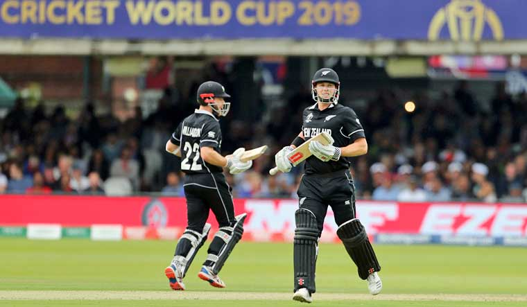 World Cup final: New Zealand score 241/8 against England