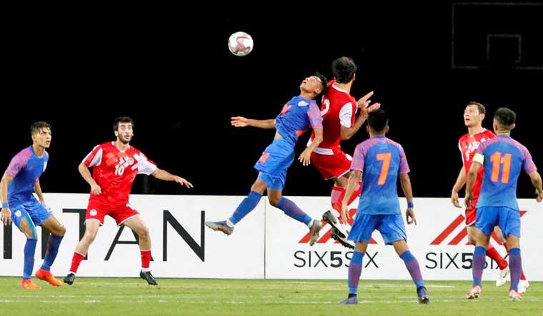 Intercontinental Cup: India go down 2-4 to Tajikistan