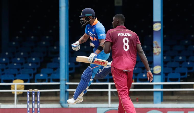 Second ODI: Kohli, Iyer guide India to 279/7 against Windies