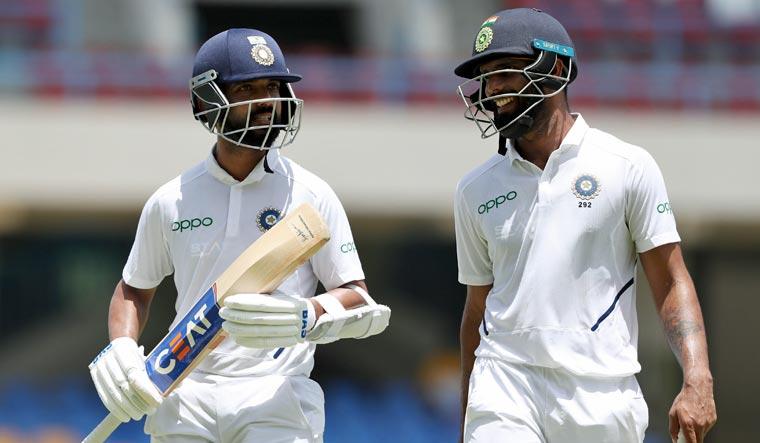 India-WI Test: Vihari, Rahane gradually taking it away from Windies