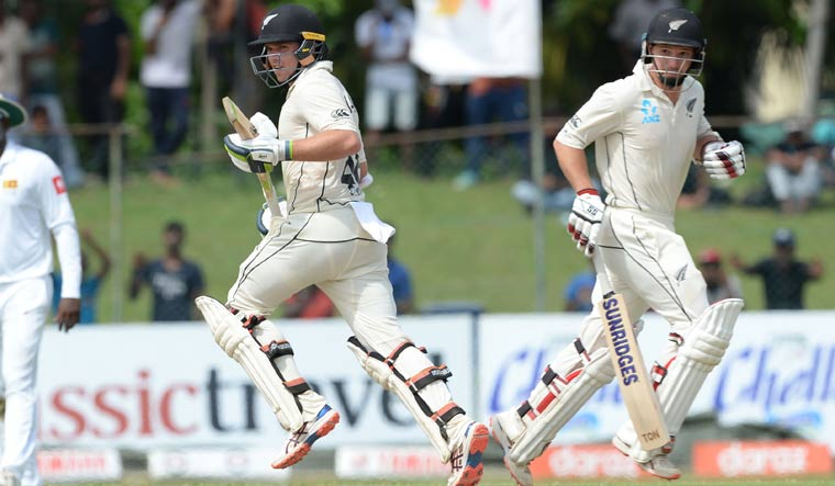 New Zealand declare on 431/6 on day 5 with lead of 187 over Sri Lanka
