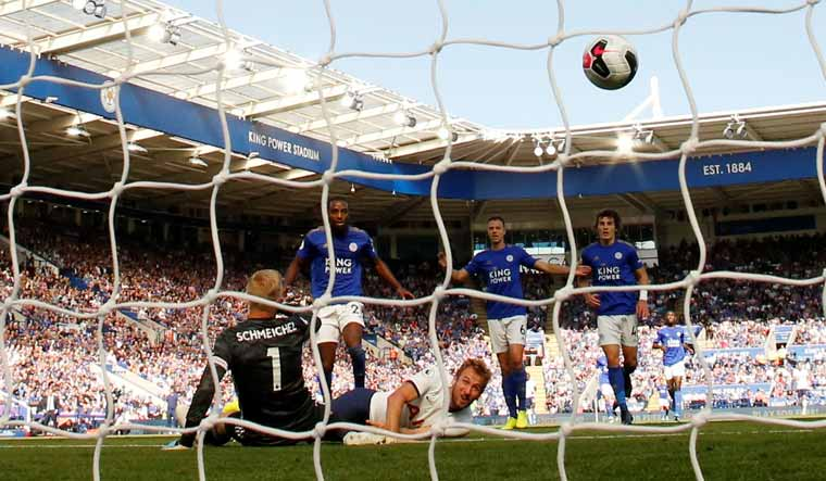 WATCH: Harry Kane can score goal lying down!