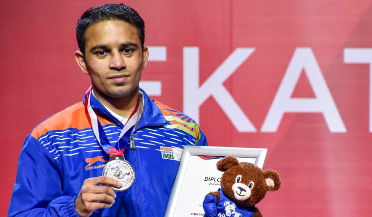 Amit Panghal counts on strenuous training to win medal at Tokyo Olympics
