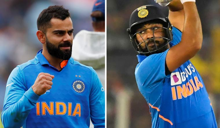 ICC Awards: Rohit is ODI Cricketer of the Year; Kohli gets 'Spirit of Cricket' accolade