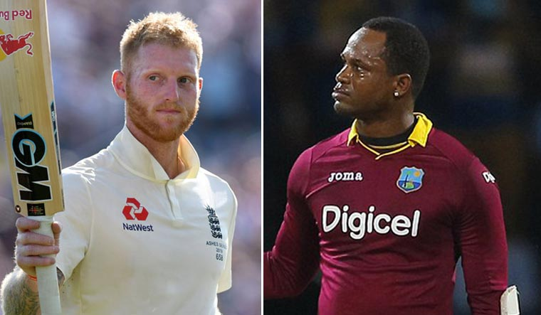 Cricket's Samuels criticised for 'appalling' tirade at Stokes