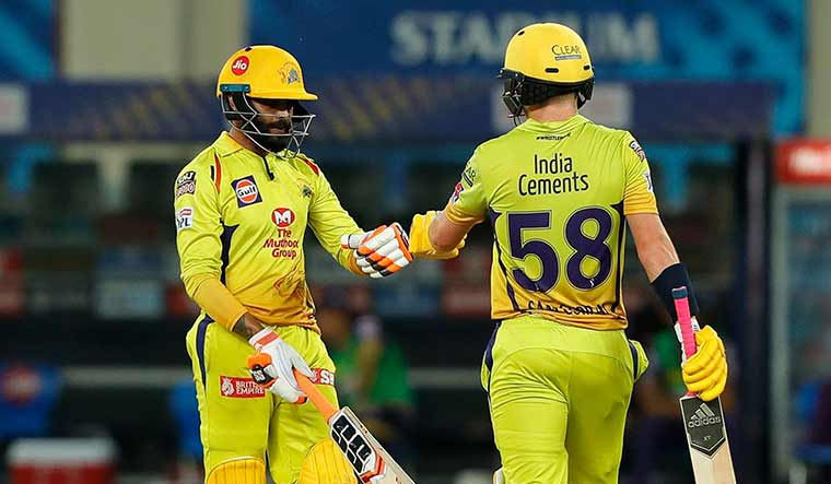 Jadeja's blitzkrieg helps CSK spoil KKR's party, sends MI into IPL play-offs