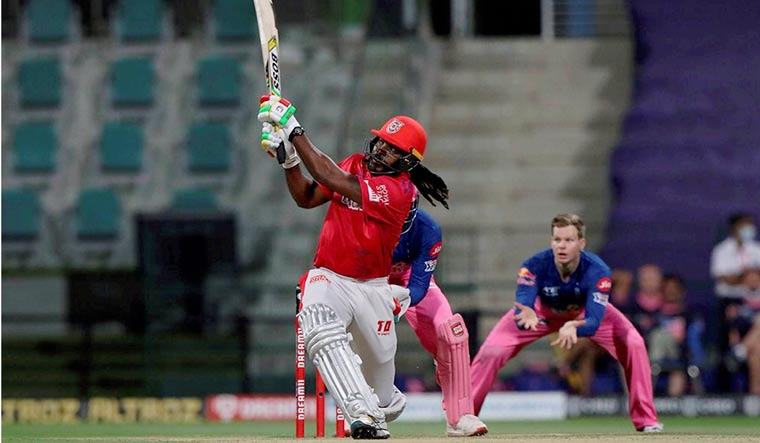 IPL 2020: Gayle powers KXIP to 185/4 against Rajasthan Royals
