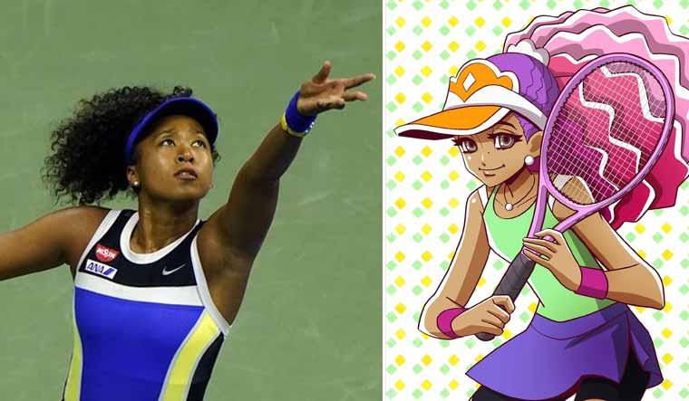 Naomi Osaka inspires Japanese comic character